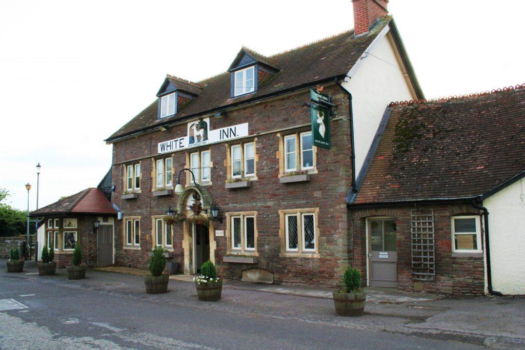 exterior of The White Hart pub Iron Acton